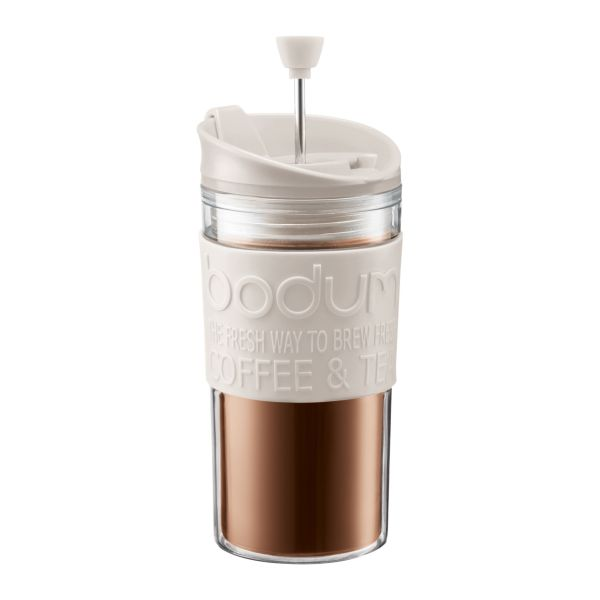 Bodum Cafetiere Travel Press Wit 350 ml