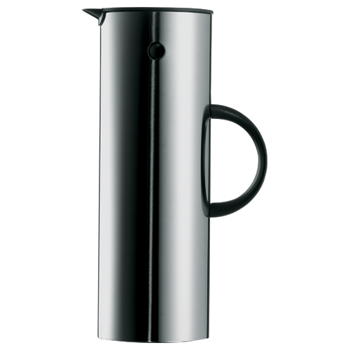 Stelton Thermos, Thermoskan 1,00ltr RVS
