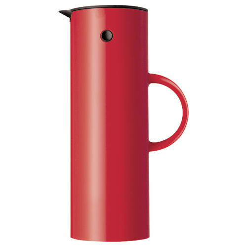 Stelton Thermos, Thermoskan 1,00ltr rood