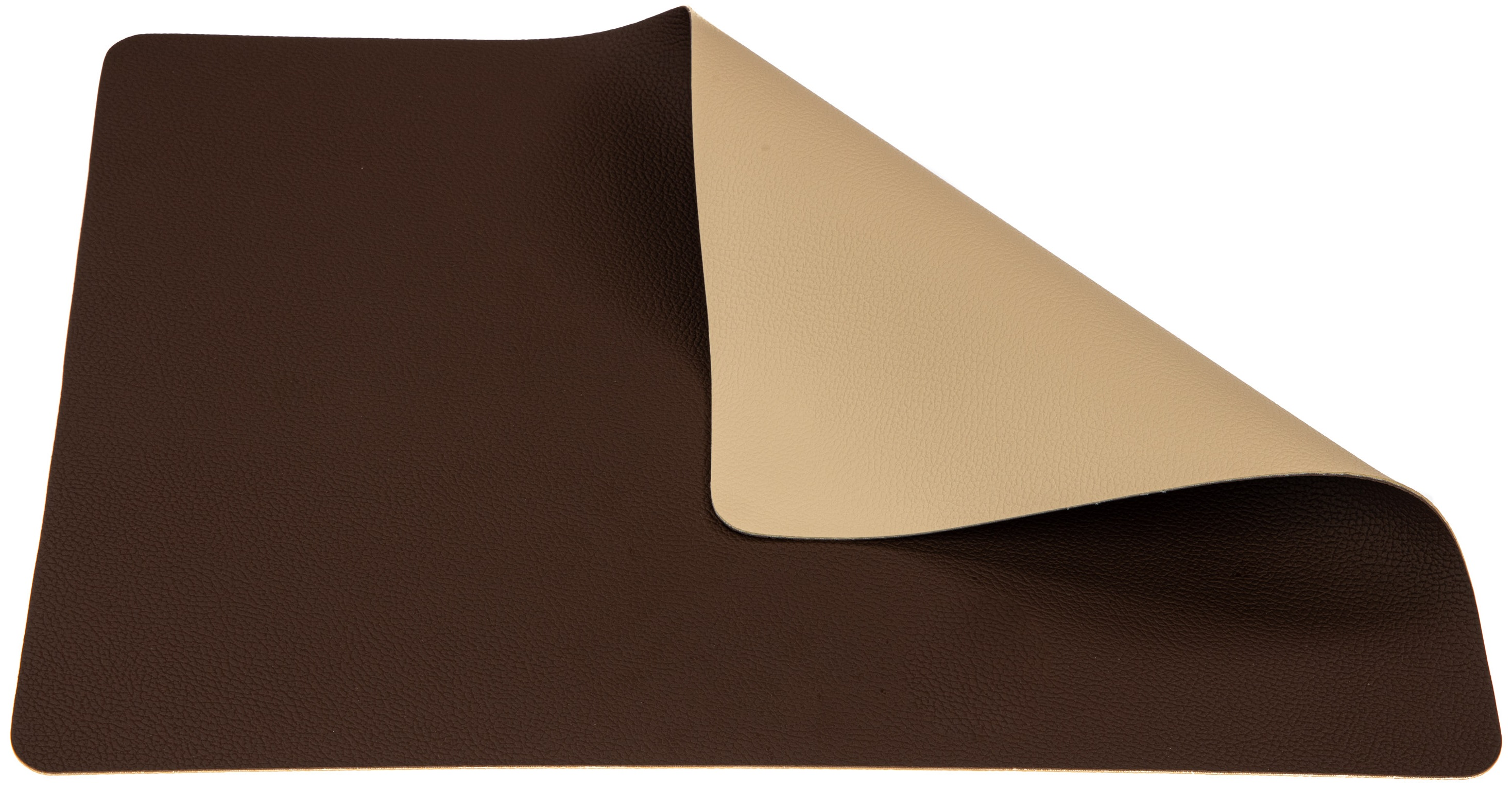 Jay Hill Placemat Leer Bruin Zand 33 x 46 cm