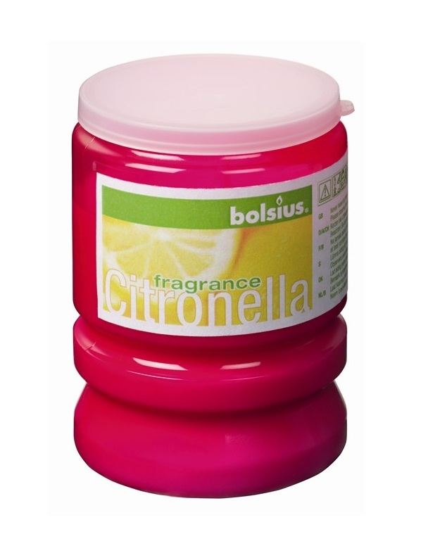 Bolsius Kaars Party Light Citronella Fuchsia