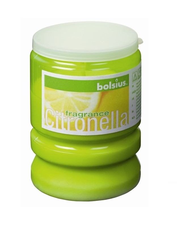 Bolsius Kaars Party Light Citronella Groen