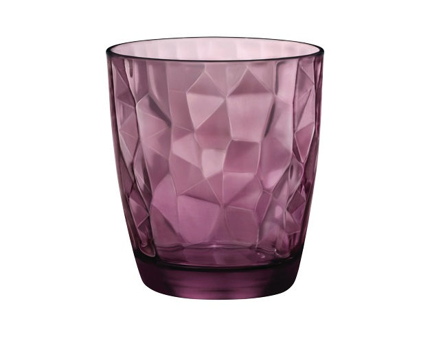 Bormioli Glas Diamond Paars 30 cl