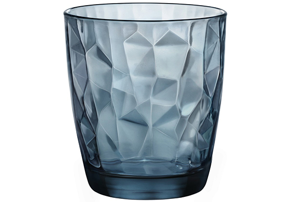 Bormioli Glas Diamond Blauw 39 cl