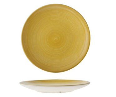 Cosy & Trendy Dessertbord Turbo Yellow � 22 cm