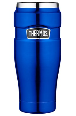 Thermos Thermosbeker King Metallic Blauw 0.47 Liter