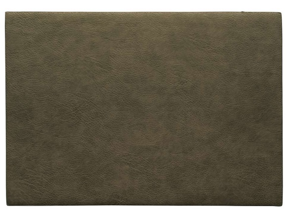 ASA Selection Placemat Leer Khaki 33 x 46 cm