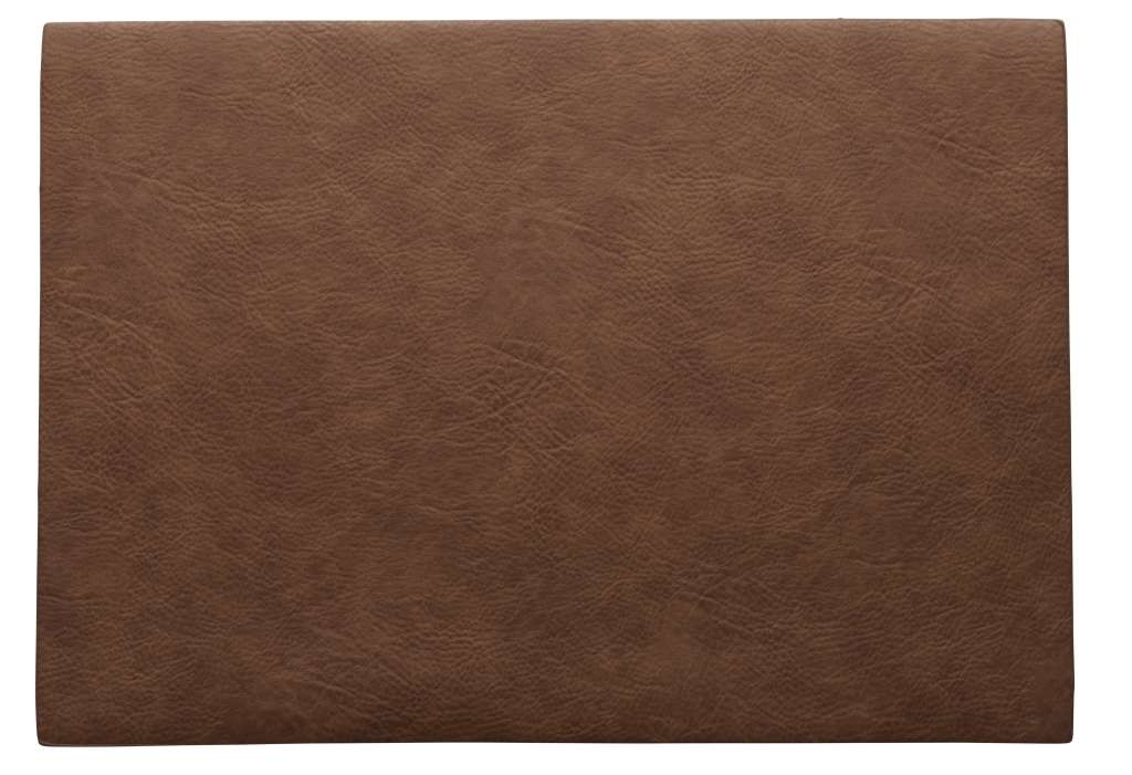 ASA Selection Placemat Leer Caramel 33 x 46 cm