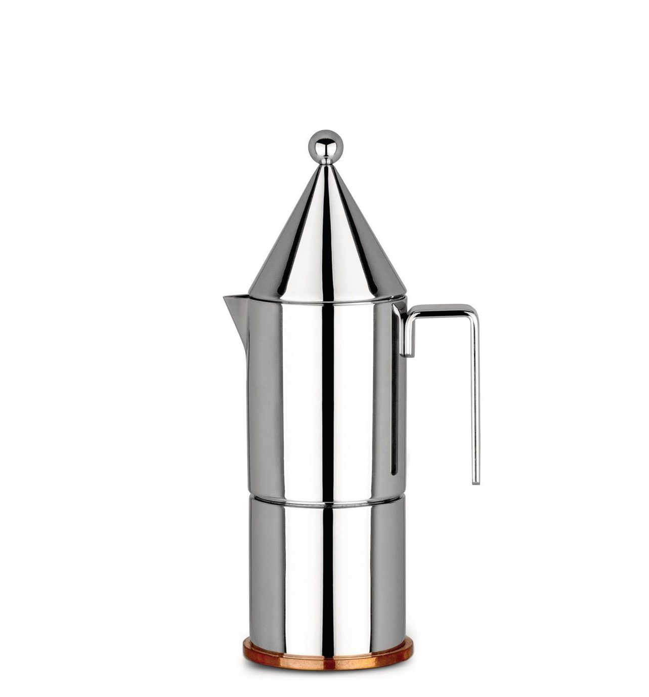 Alessi Percolator 90002/3 La Conica Door Aldo Rossi - 3 Kops