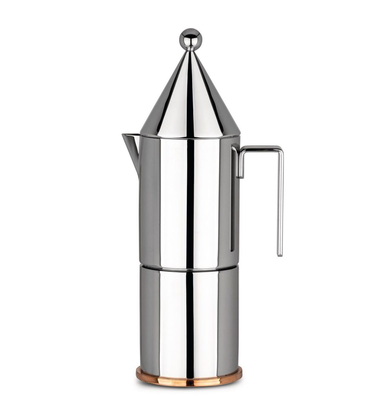 Alessi Percolator 90002/6 La Conica Door Aldo Rossi - 6 Kops