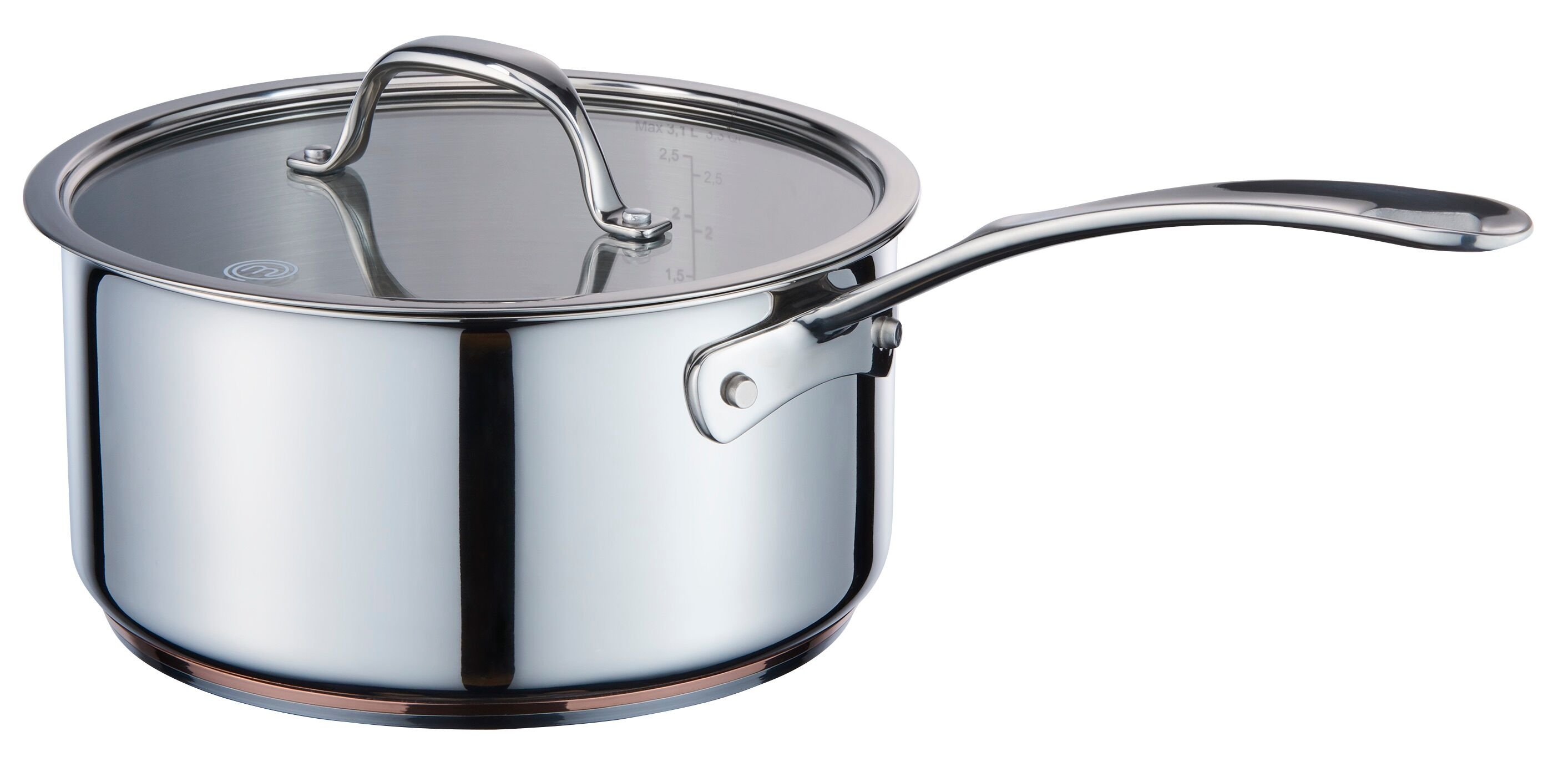 MasterChef Steelpan Copperline Cookware � 20 cm