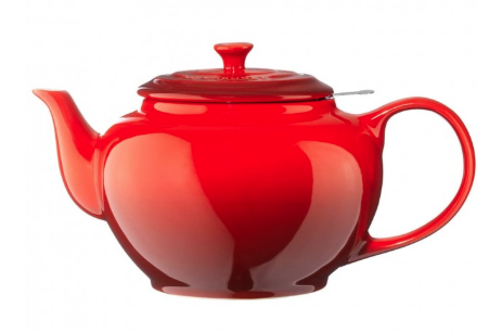 Le Creuset Theepot Kersenrood 1.3 Liter