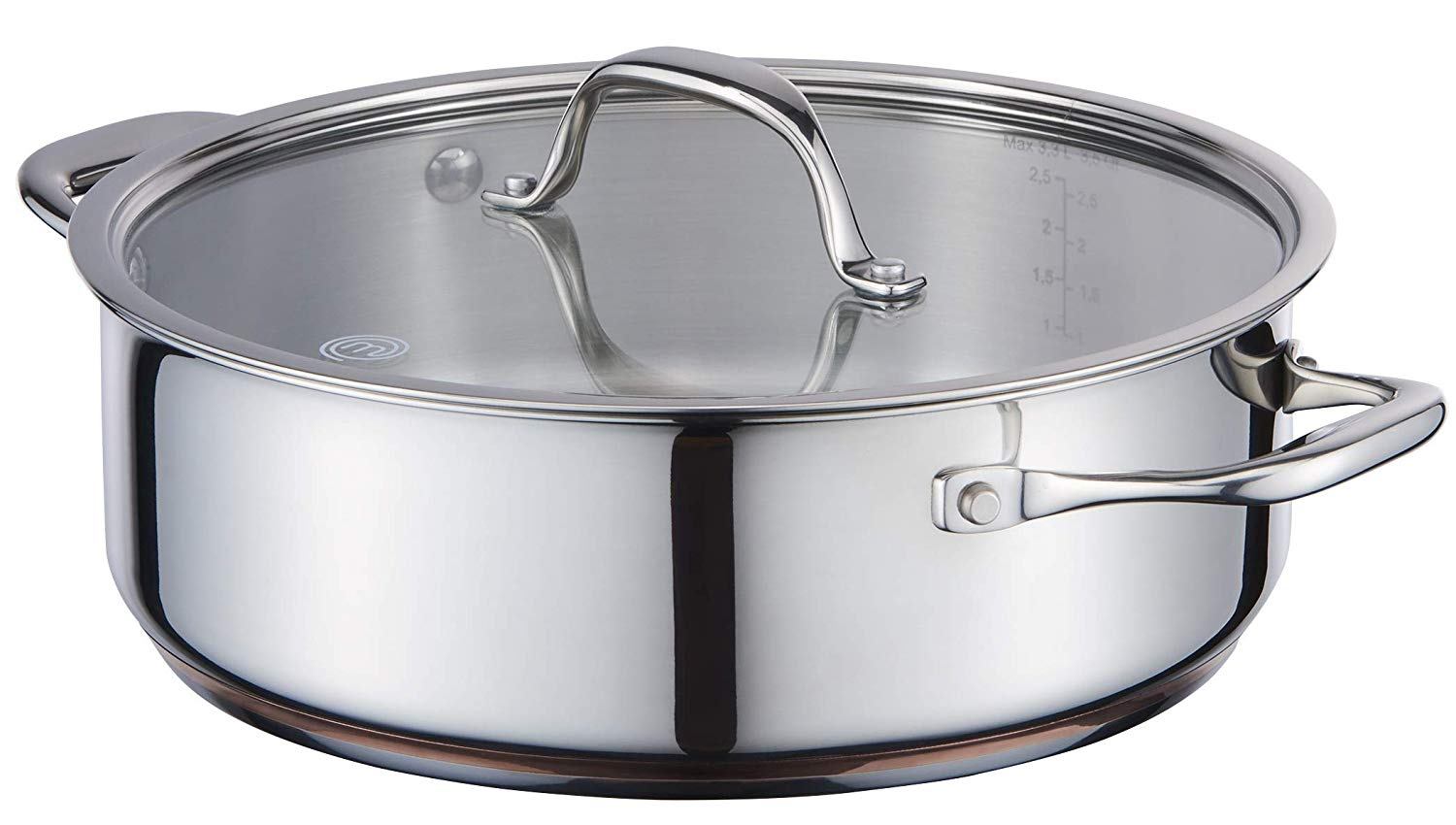 MasterChef Sauteerpan Copperline Cookware � 24 cm