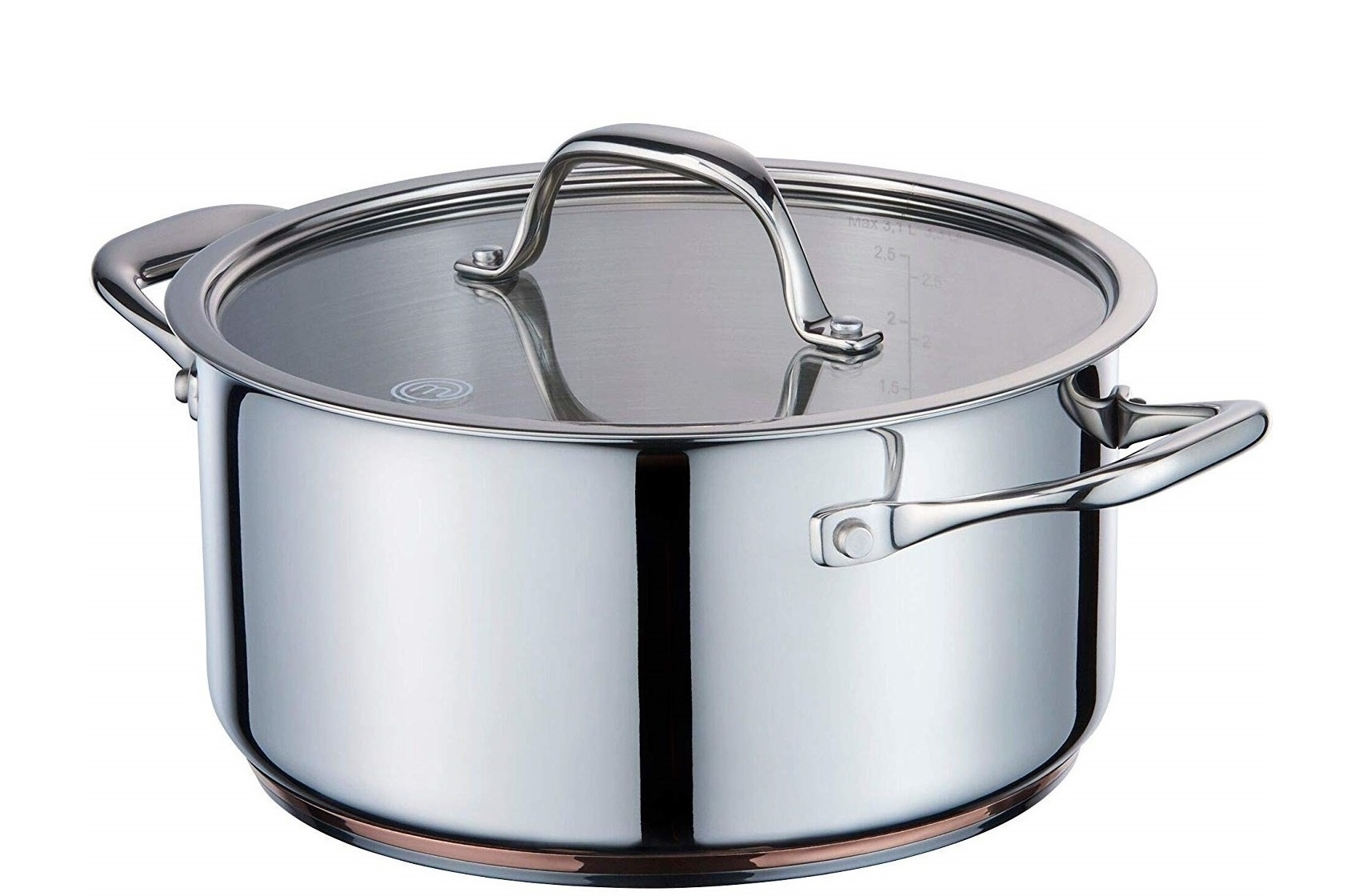 MasterChef Kookpan Copperline Cookware 4.7 Liter