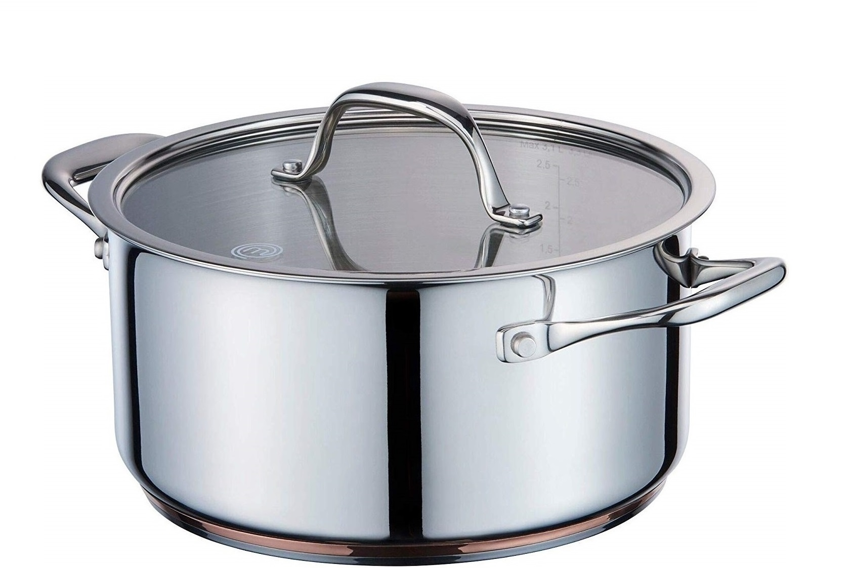 MasterChef Kookpan Copperline Cookware 3.1 Liter