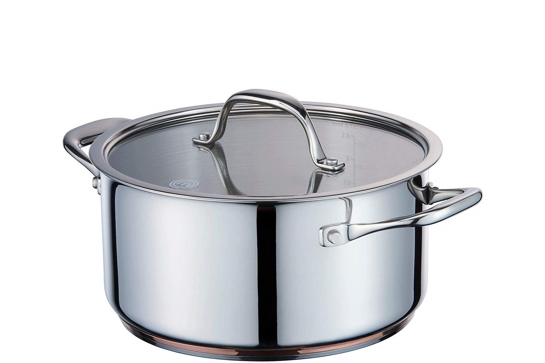 MasterChef Kookpan Copperline Cookware 1.4 Liter