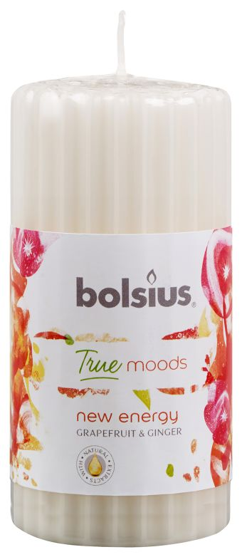 Bolsius Stompkaars True Moods New Energy 120/58 mm