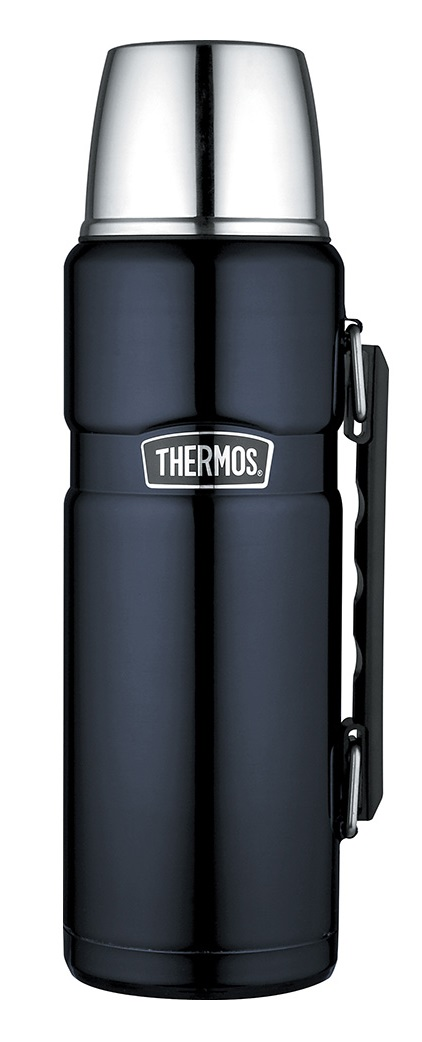Thermos Thermosfles King Blauw 1.2 Liter