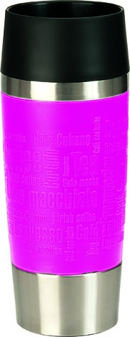 Emsa Thermosbeker Travel Mug Roze 0.36 Liter