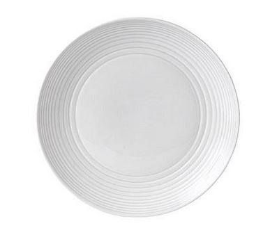 Royal Doulton Gordon Ramsay Maze (servies), Dinerbord 28cm wit